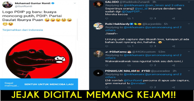 Diduga Melakukan Penghinaan kepada PDIP, Guntur Romli di Bully Netizen Gara-gara Jejak Digital