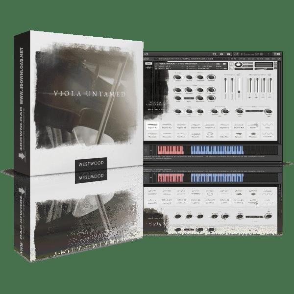 Westwood Instruments Viola Untamed KONTAKT Library