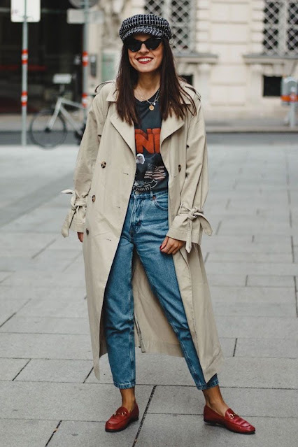 trencz, polscy projektanci, smart casual, styl na wiosne, wiosenna stylizacja, stylizacja trencz, modowe inspiracje, codzienny styl, kobieta po 40,