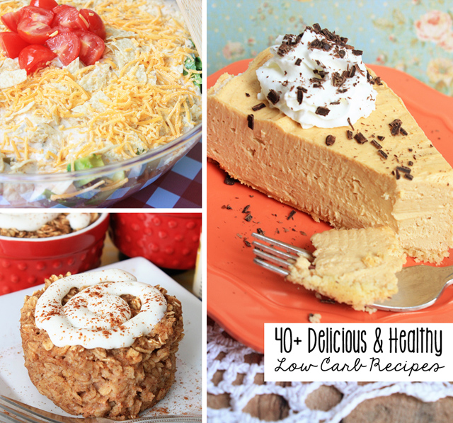 40+ Delicious and Healthy Low Carb Recipes