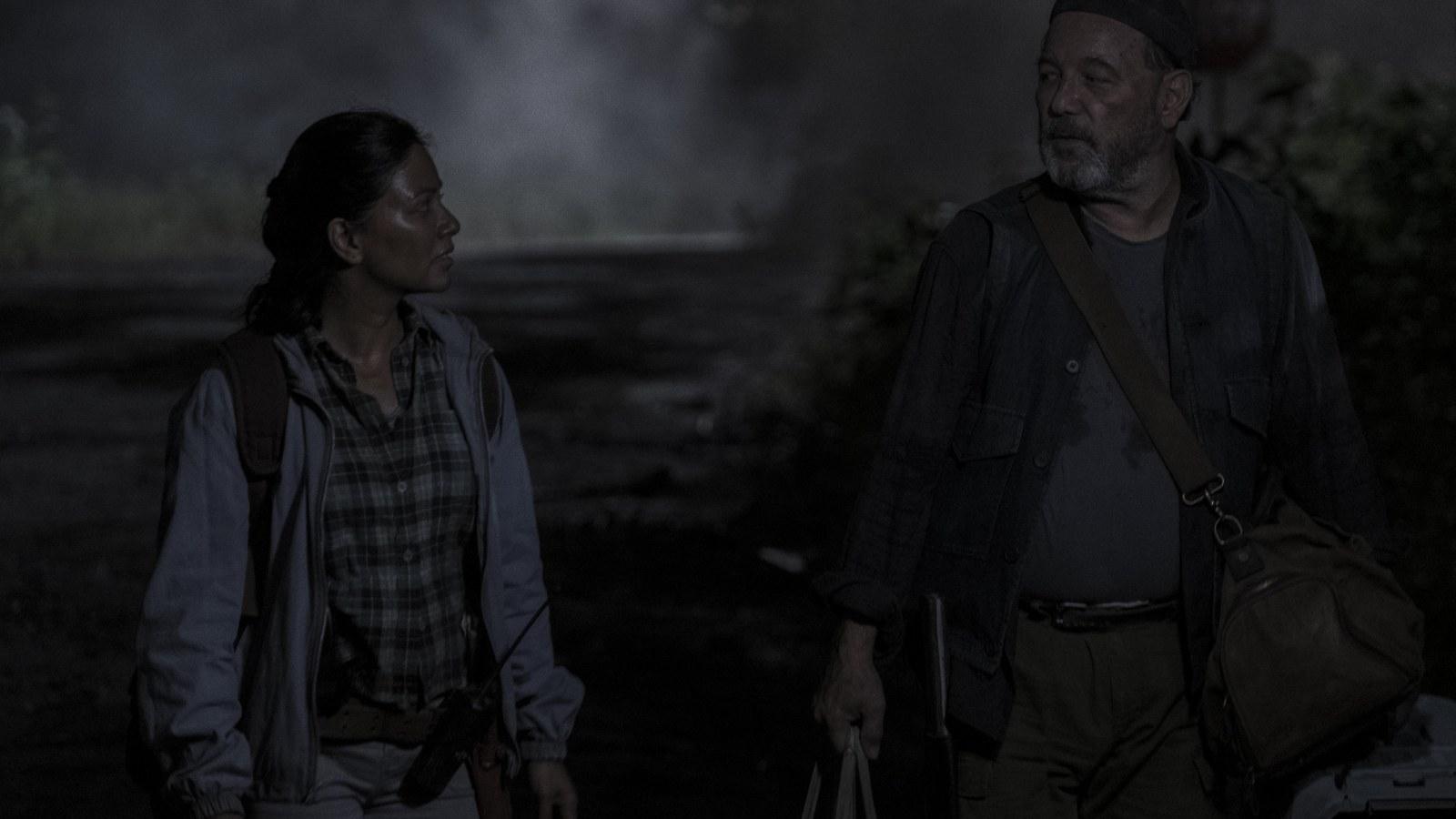 Daniel y Grace, en el episodio 5x14 de Fear The Walking Dead