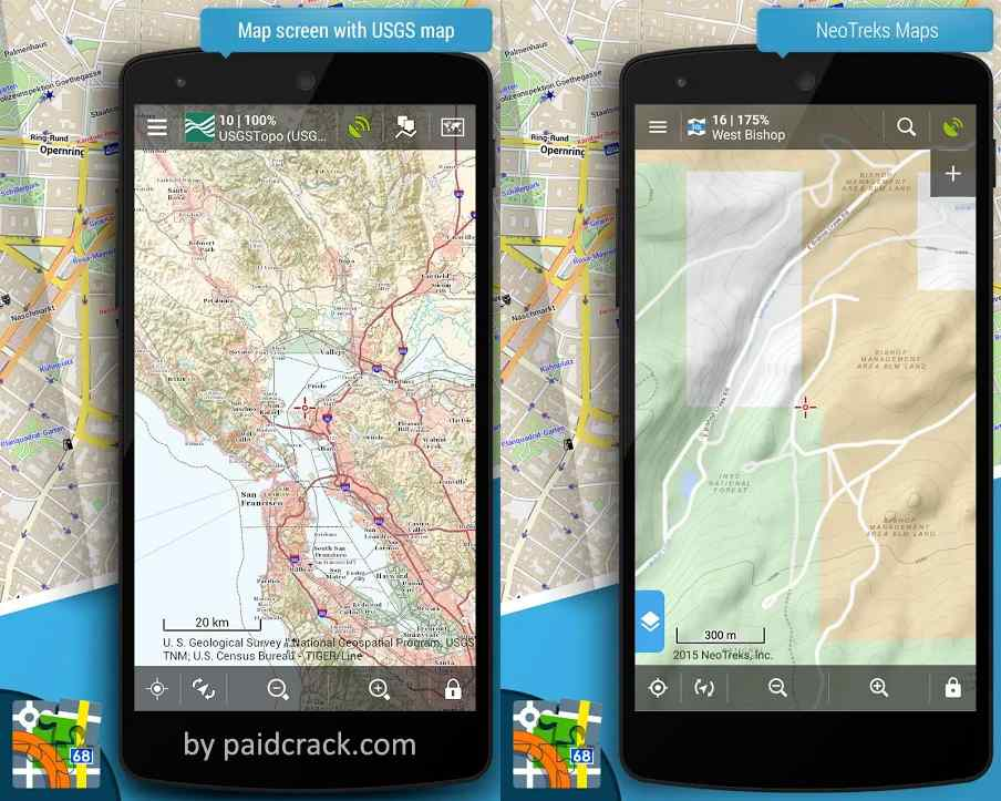 Locus Map Pro - Outdoor GPS navigation and maps Mod Apk 3.51.2 [Paid]