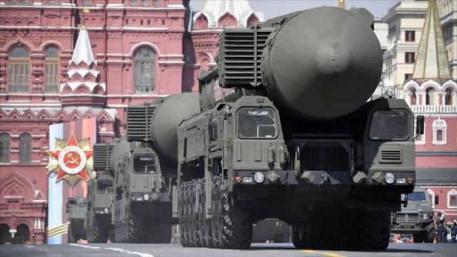 Rusia usará armas nucleares si ve amenazada la paz global por EEUU