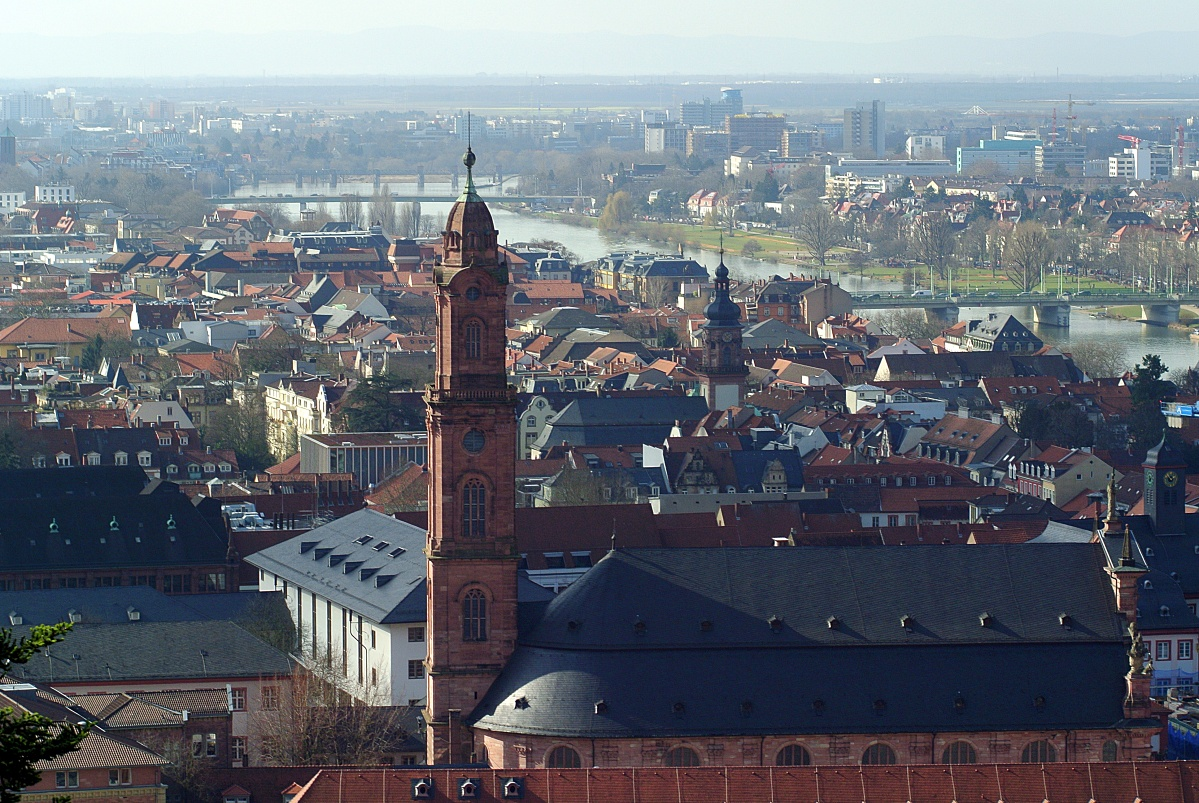 Auf dem Heidelberger Schloss (3)
