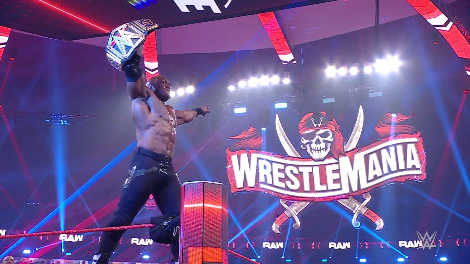 Bobby Lashley conquista o WWE Championship