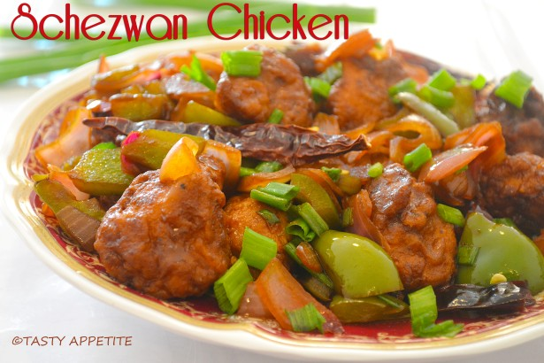 Schezwan Chicken