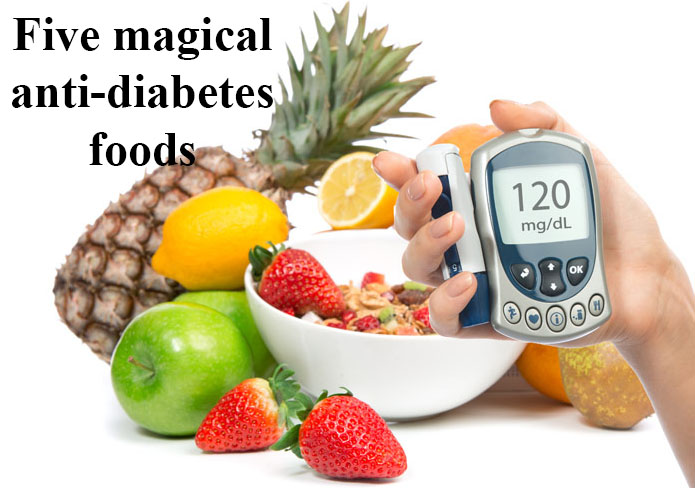 5 magical anti-diabetes foods
