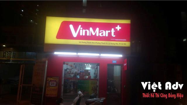 bảng hiệu vinmart