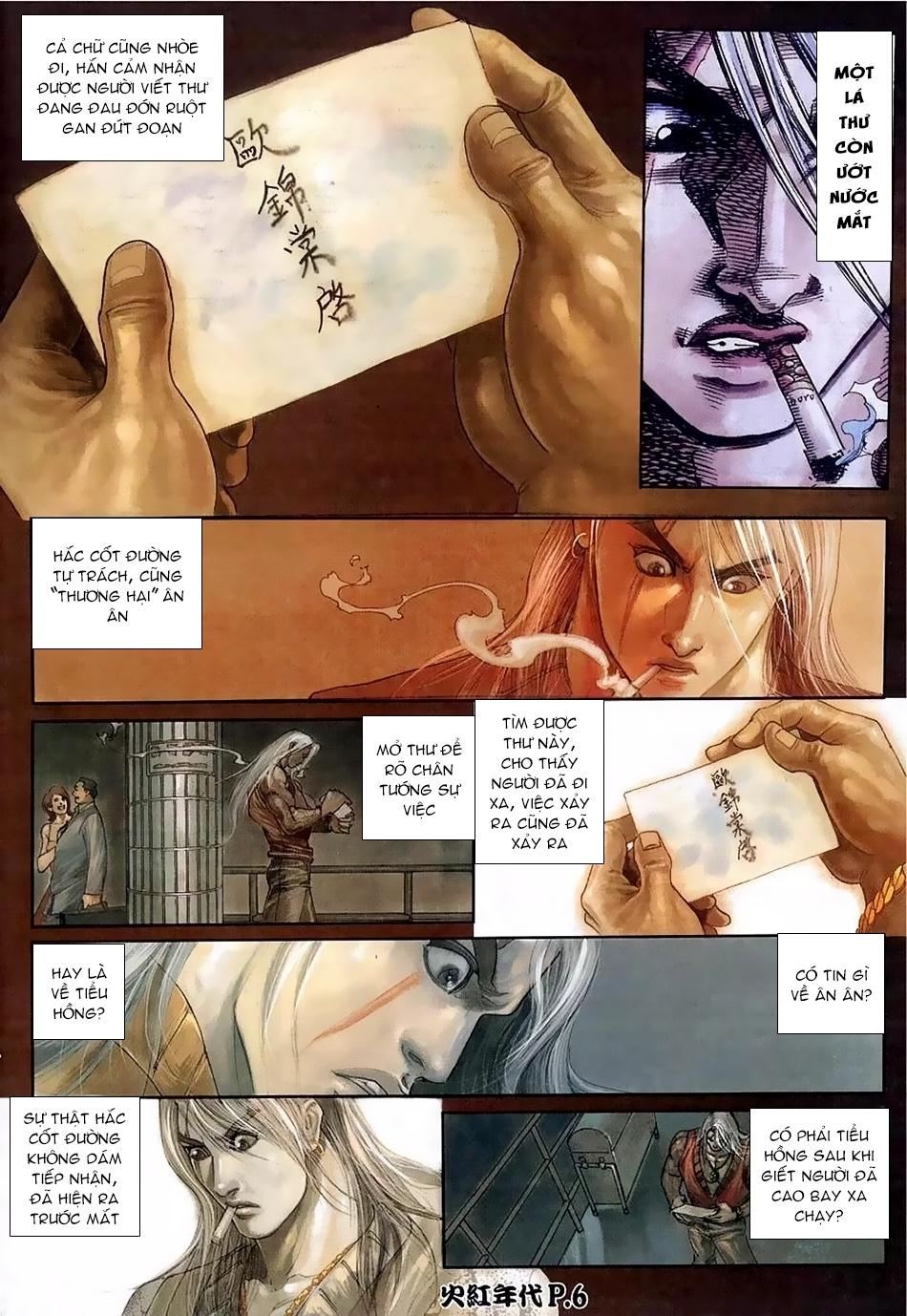 Hỏa Hồng Niên Đại Hắc Cốt Đường Chap 114 - Trang 4