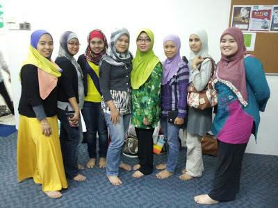 Chempaka Mohd Din and group