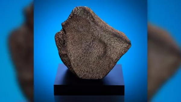 Meteorito marciano Taoudenni 002