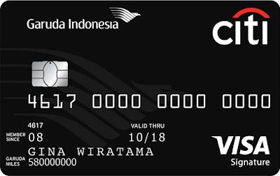 5 Rekomendasi Kartu Kredit Terbaik Untuk Mengumpulkan Miles - Garuda Indonesia Citi Card