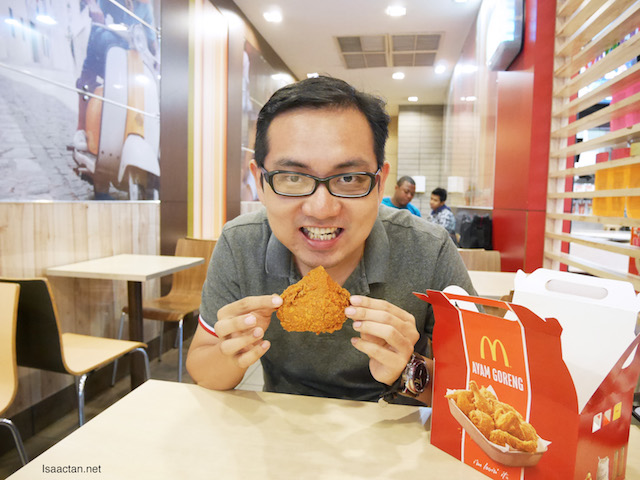 Ayam Goreng McD - There's Nothing Like It!