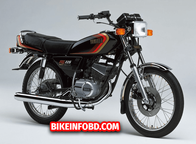 Yamaha RX 115 (Japan) Specifications, Review, Top Speed, Photos & Mileage