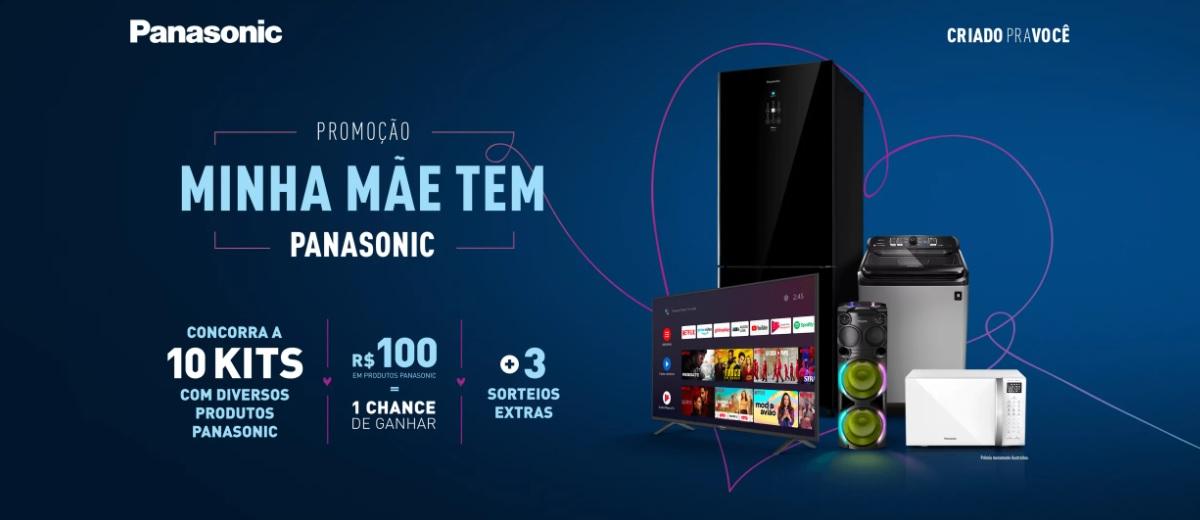Promoção Panasonic Dia das Mães 2021 Minha Mãe Tem - Concorra Kits de Produtos