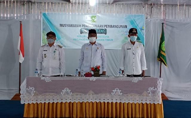 Plt Bupati Lingga Menghadiri Musrenbang di Kecamatan Singkep Barat.