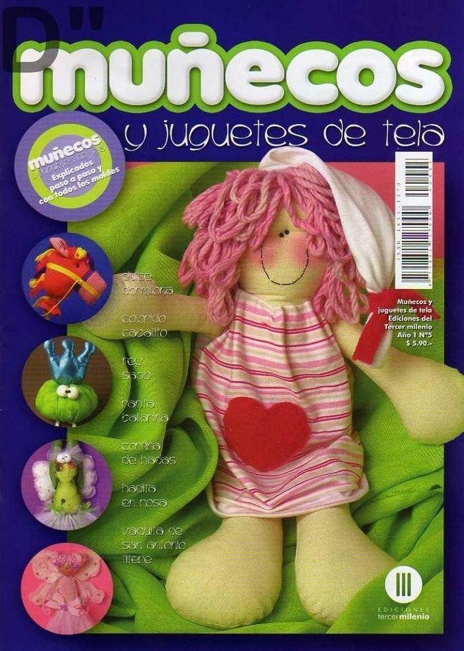 Muñecos y Juguetes de tela Nro. 5