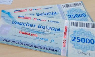 Voucher Belanja Alfamart, Alfamidi, dan Lawson dari Mybank