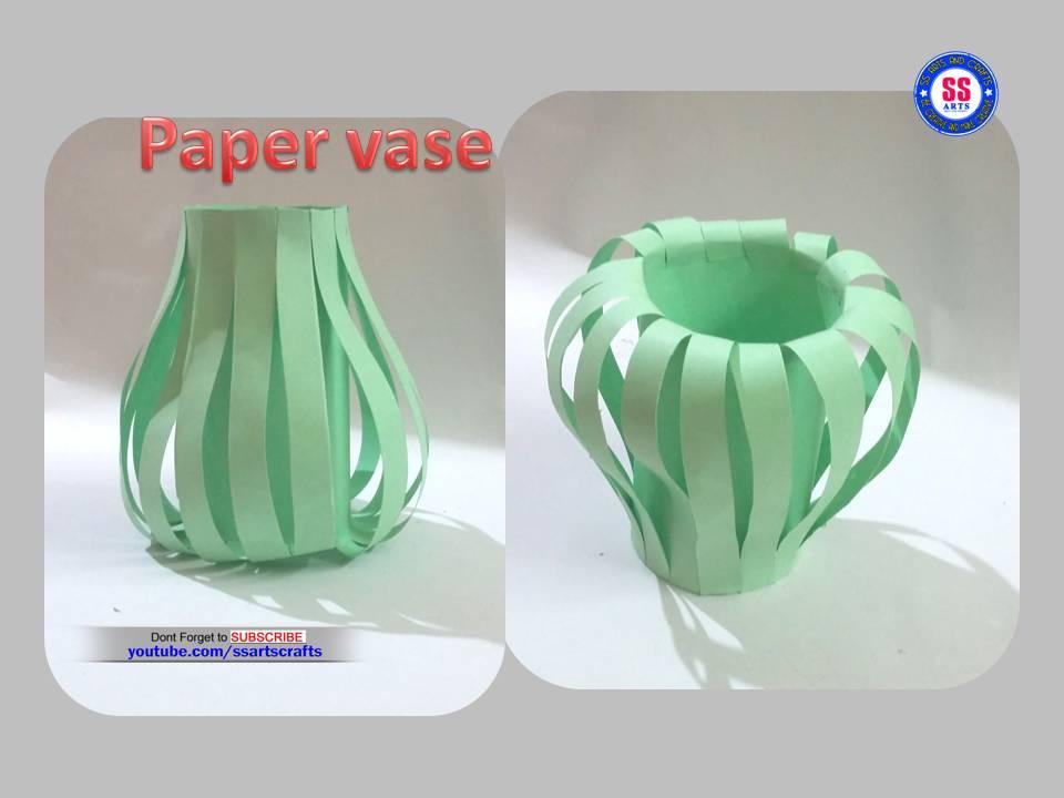 Simple Diy Paper Vase