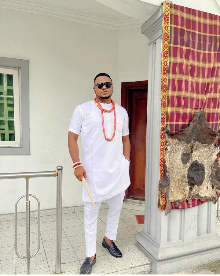 Check Out Cute Pictures Of Ken Erics Slaying In Different Igbo Attires