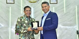 Syarif Fasha Dapati Kunjungan Kerja dari Menteri Senior Pemerintah Singapura