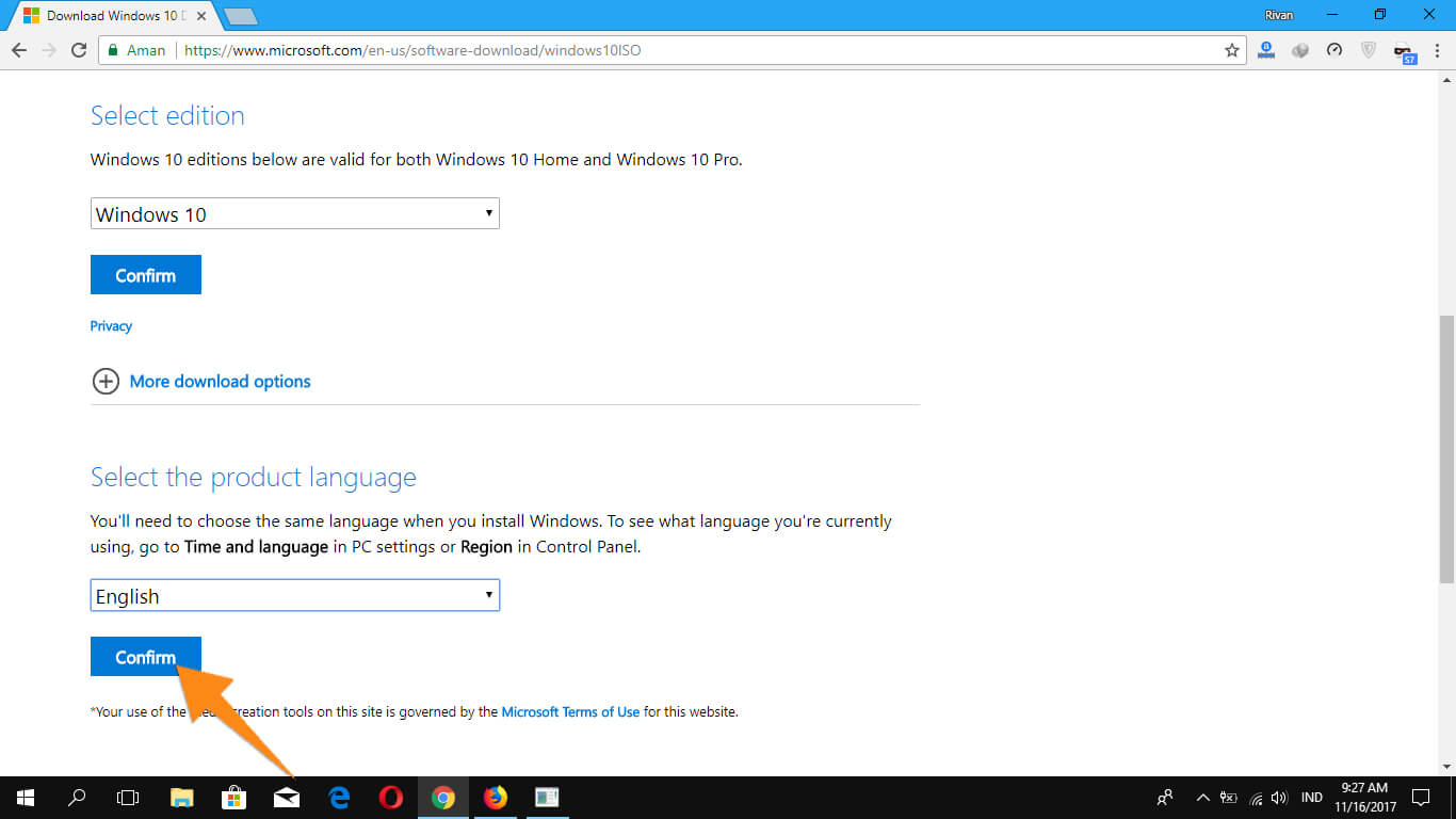 Cara Download Windows 10 Secara Legal