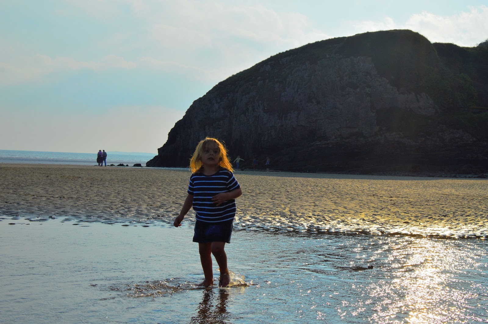 ", A Day at Pendine and Laugharne- ""Magical Bedlam By the Sea"""