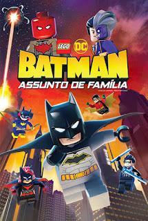 LEGO DC: Batman - Assunto de Família - BDRip Dual Áudio