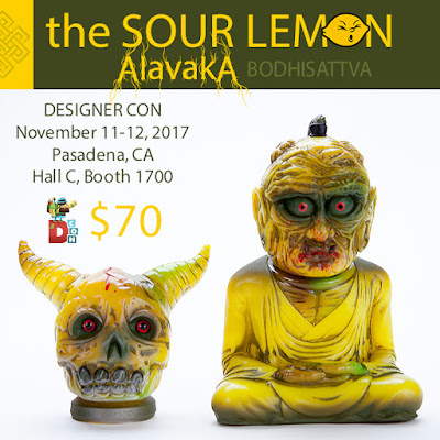 Devils Head Productions x The Sour Lemon Designer Con 2017 Exclusive Vinyl Figures