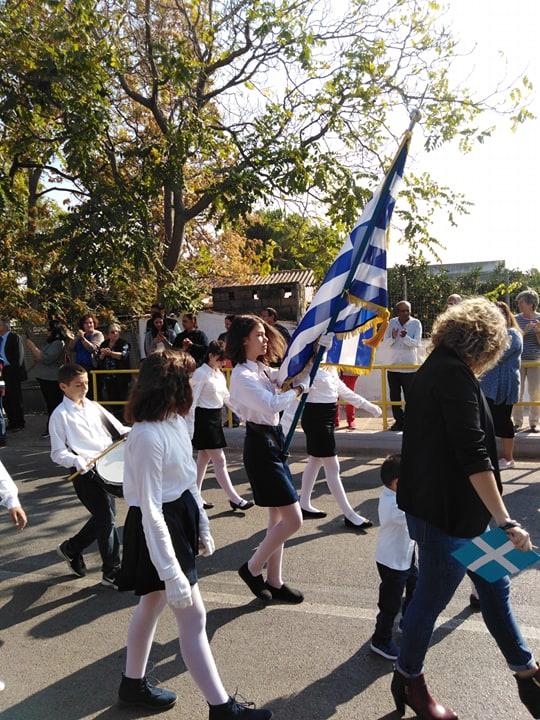 Η παρέλαση της 28ης Οκτωβρίου σε Καστέλλα και Ψαχνά (φωτό) 74617555 2533355026753125 4526872835376807936 n