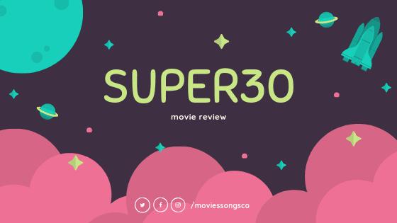 Super30 movie review. Hrithik Roshan's next film.