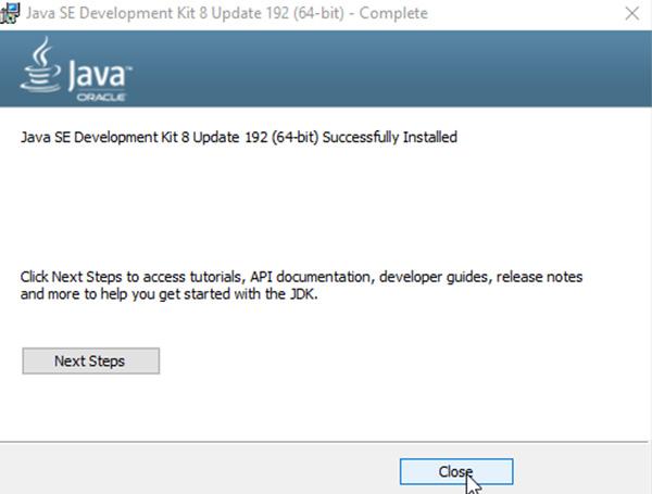 Hướng dẫn cách tải và cài đặt JAVA 8 trên Windows e