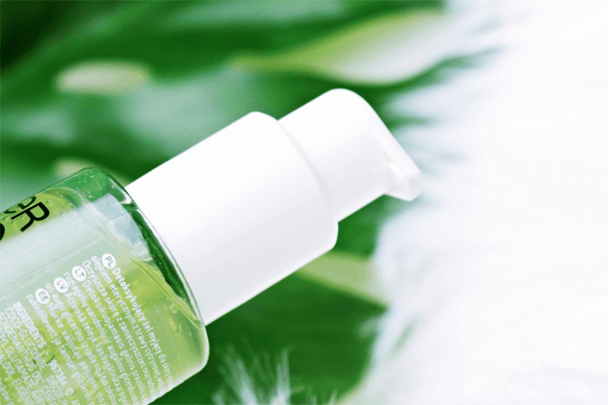 Garnier, Bio, Fresh Lemongrass Detox Gel Wash -Detoksykujący żel myjący z trawą cytrynową.