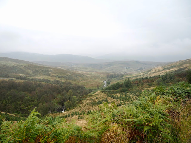 Bracklinn Falls & Callander Crags hike, Loch Lomond & Trossachs National Park, Scotland