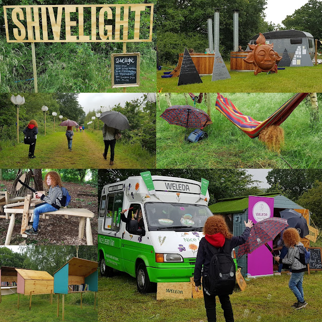 shivelight area collage with hot tubs hammocks and weleda ice cream van