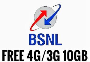 Loot - BSNL Bumper Offer get upto 10GB 4G Data FREE