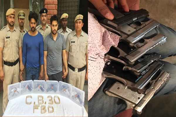 taja-news-faridabad-cia-arrested-gun-smuggler-linked-mcd-election