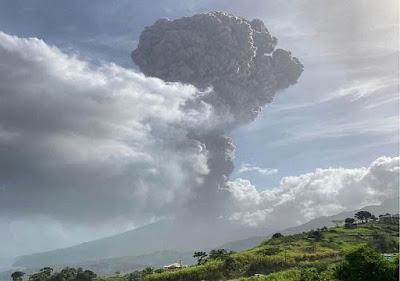 Erupção-la-soufriere