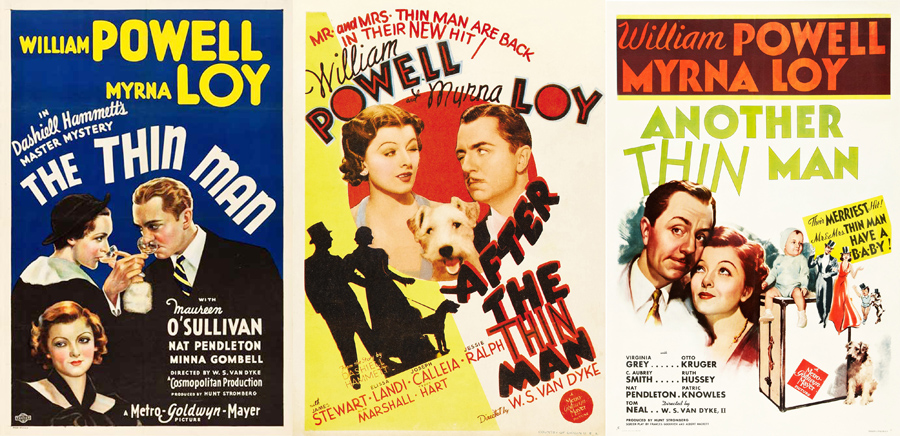 The Thin Man, After The Thin Man, Another Thin Man