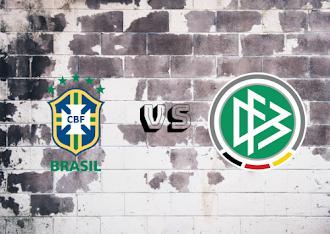Brazil  vs Germany  Resumen y Partido Completo