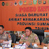 Kapolda Sumsel Melakukan Rapat Bersama Gubernur Sumsel Dan Satgas Karhutla