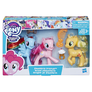 Equestria Friends Set - Rainbow Twilight Applejack