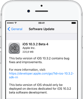 Fourth betas of iOS 10.3.2, macOS Sierra 10.12.5, watchOS 3.2.2 & tvOS 10.2.1 now available