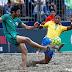 Brasil y Venezuela lideres eventuales de la Copa América de Fútbol Playa.