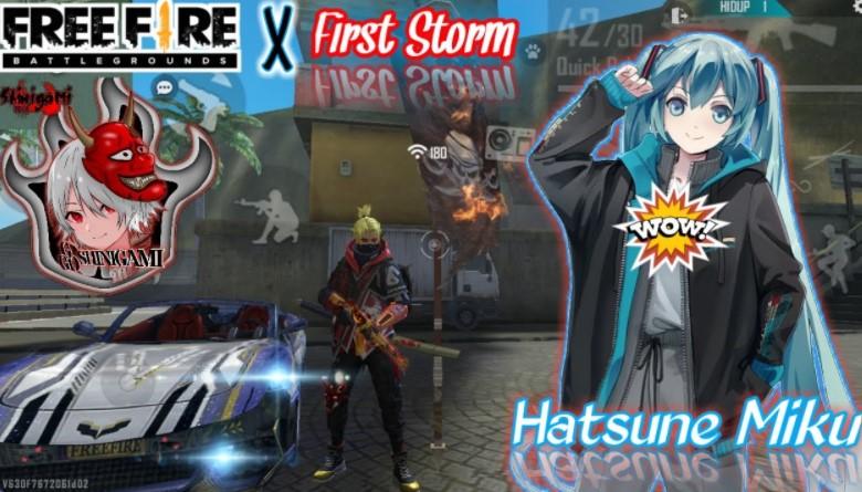 Free Fire x Hatsune Miku