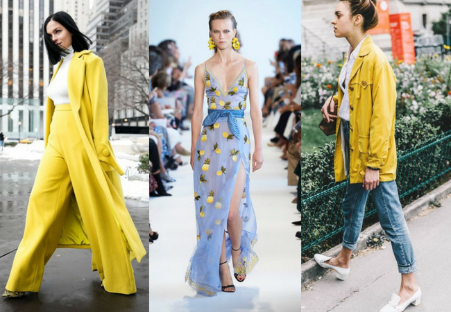 Tendência: Cores na moda primavera/verão 2017