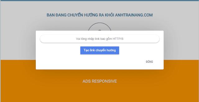 Share template và hướng dẫn tạo site chuyển hướng liên kết ngoài tự động cho blogspot