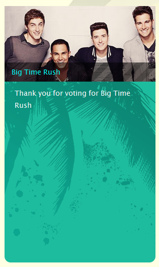 voting fur die teen choice awards