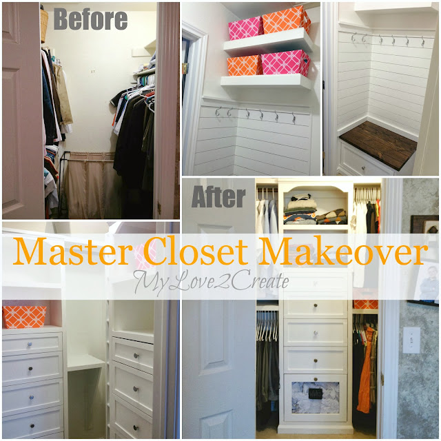 Master Closet Makeover, MyLove2Create