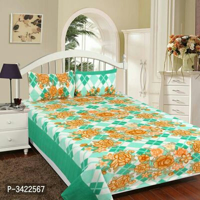 Warm double bed sheet